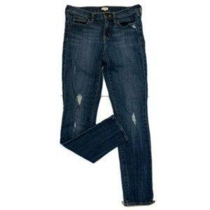 J.Crew Stretch Ripped Jeans Medium Wash 08410